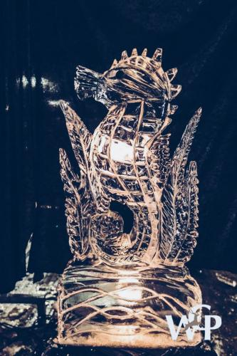 ice-carving zeepaardje winterfeest 2017 Putten