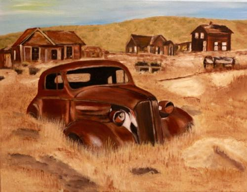 Auto in weiland